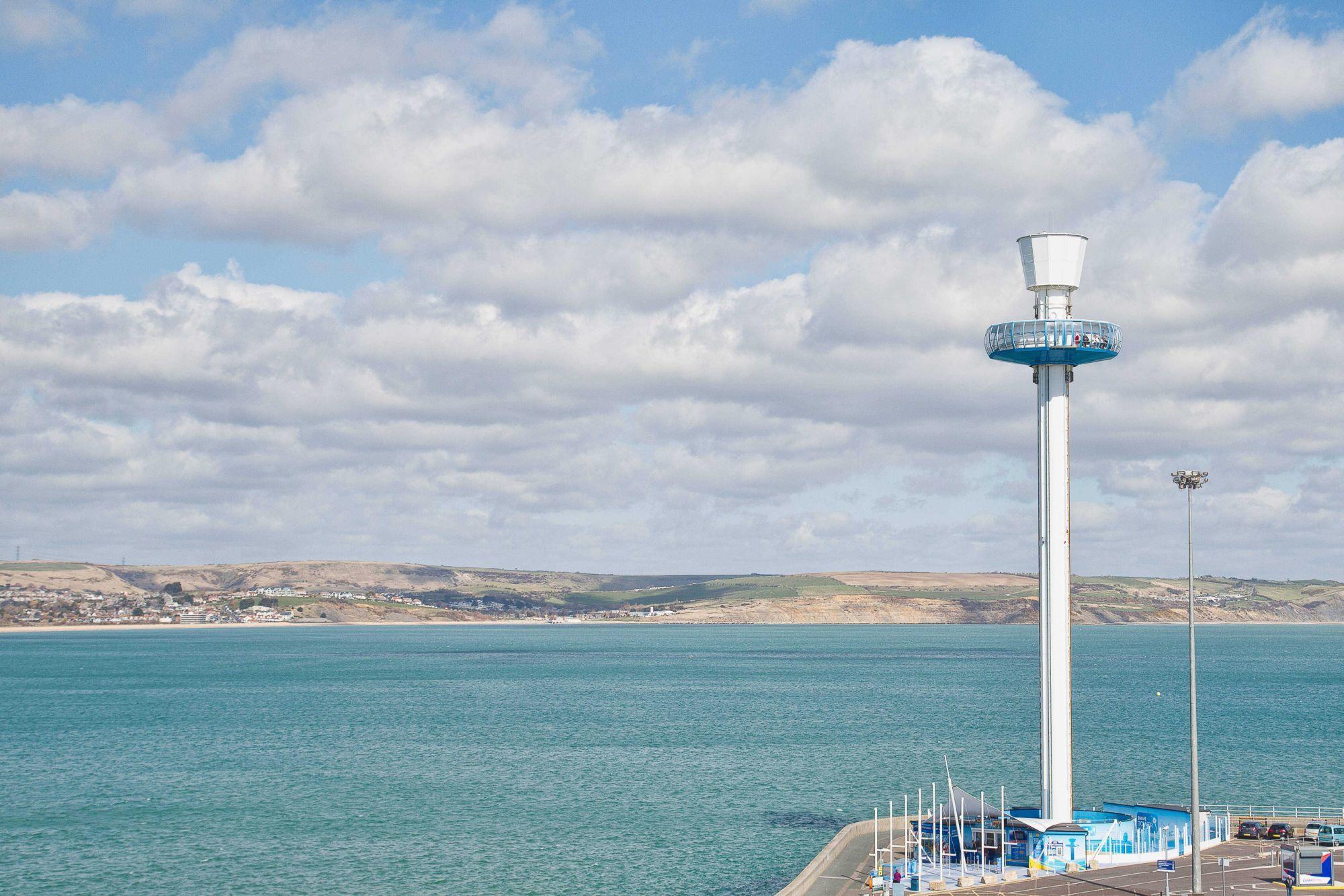 Work begins to remove Weymouth's Jurassic Skyline tower - Dorset Echo