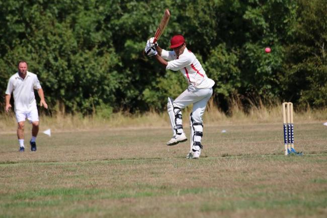 Shafeek Urumancheri took three quick wickets but could not prevent Weymouth losing             Picture: TOM REED