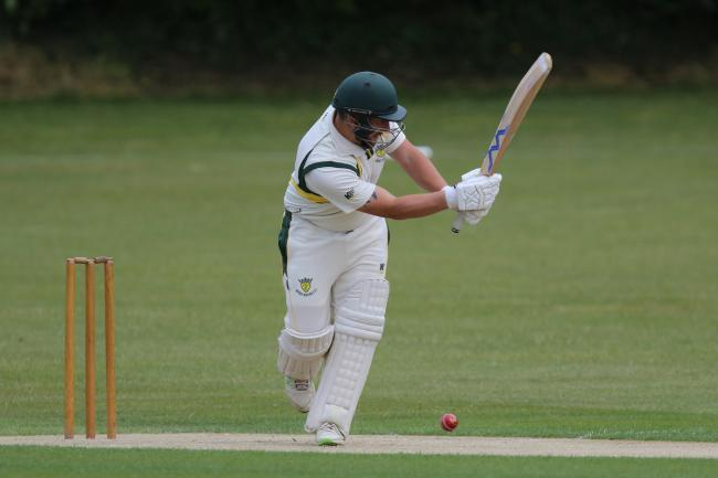 Matt King top scored for champions St George's with 193 runs 			       Picture: PHIL STANDFIELD