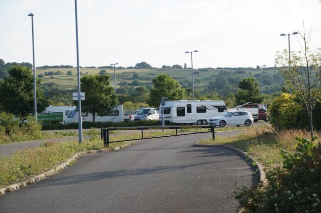 Travellers have moved on to land at Weymouth park and ride