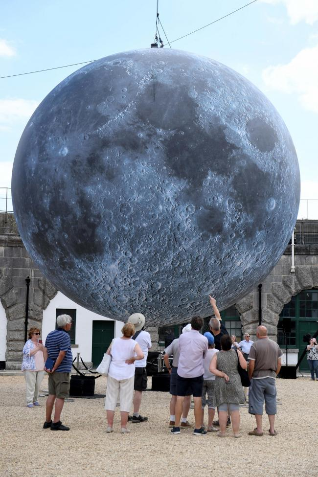 Museum of the Moon at Nothe Fort, 12/07/19, Picture: FINNBARR WEBSTER/F30359.