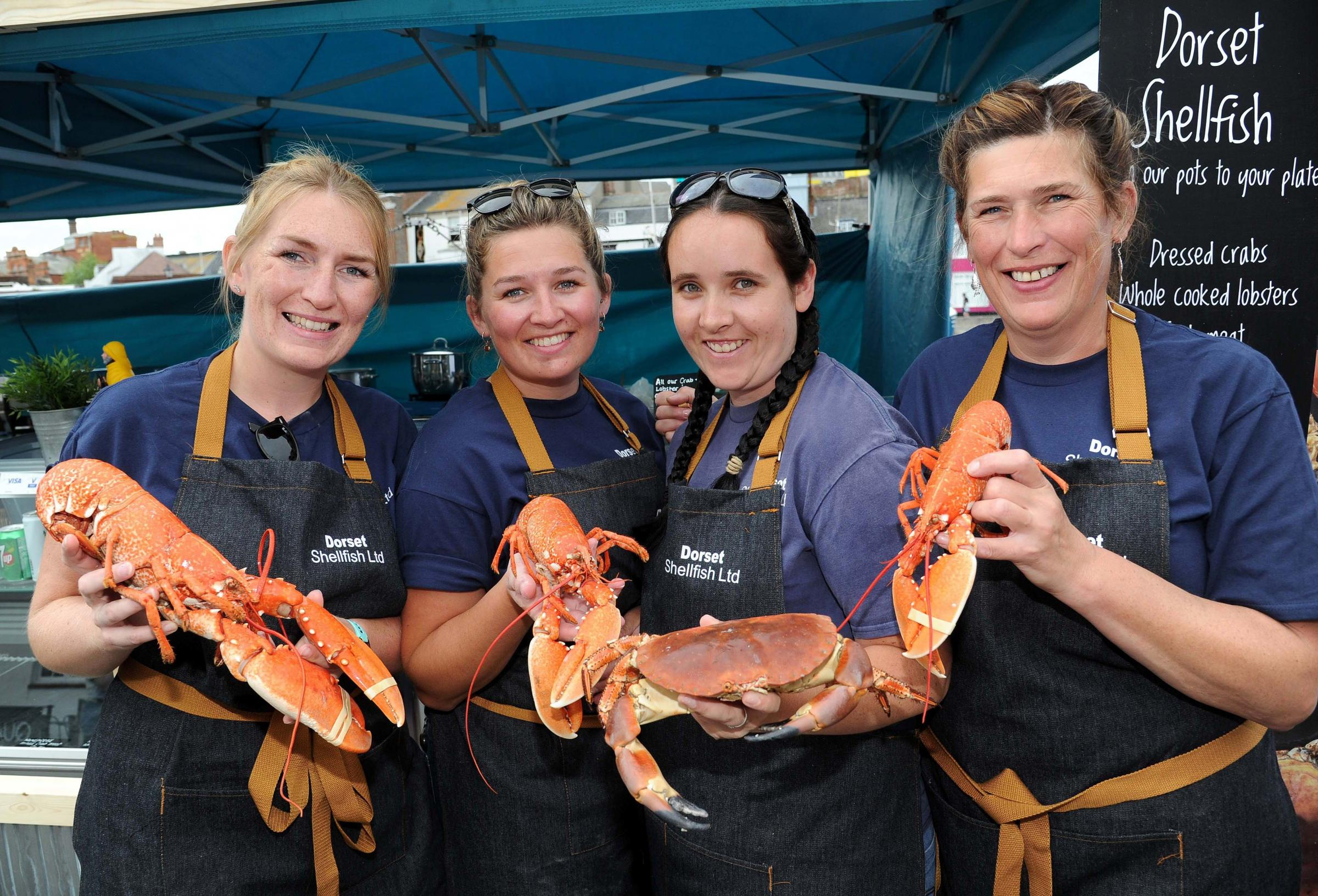 Weymouth in party mode for Dorset Seafood Festival