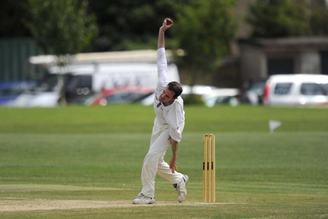 Beaminster all-rounder Simon Jones took 4-17 at Cranborne  	              Picture: GRAHAM HUNT PHOTOGRAPHY