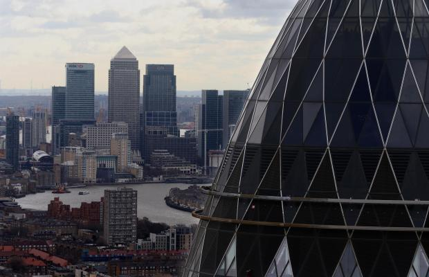 Dorset Echo: The London skyline as City of London reveals its Square Mile properties will be powered by a huge solar farm in rural Dorset. Picture: Chris Radburn/PA Wire.