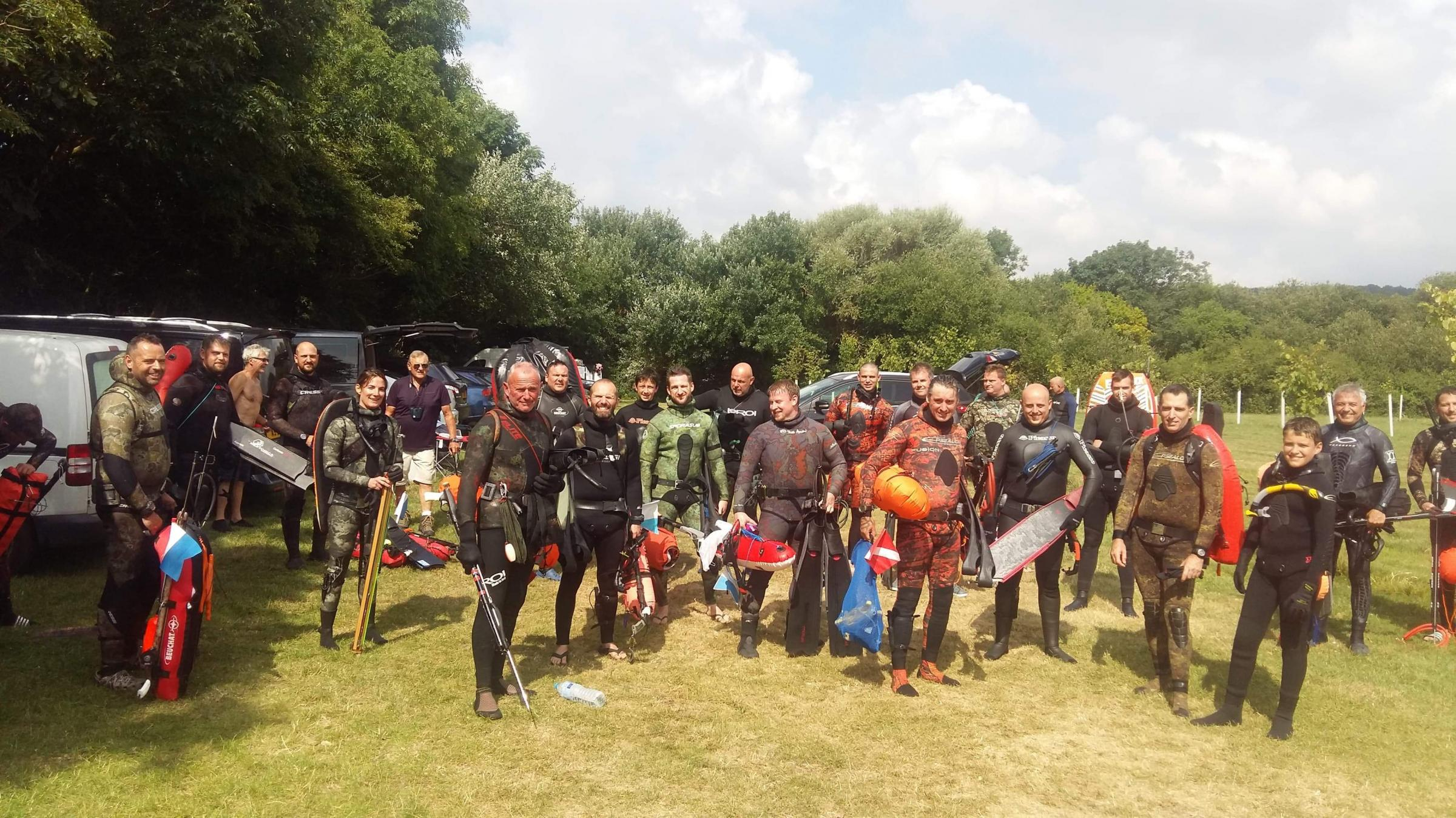 Spearfishing safety guide published at Ringstead Bay event in memory of Andrew Scott