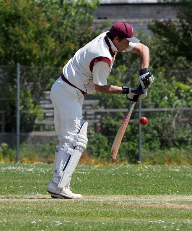 Chris Leake has 392 runs this season 	                 Picture: GEOFF MOORE/DMS