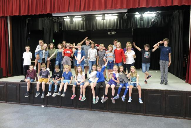Last year's cast for Dorchester Youth Theatre's Combined Arts Week