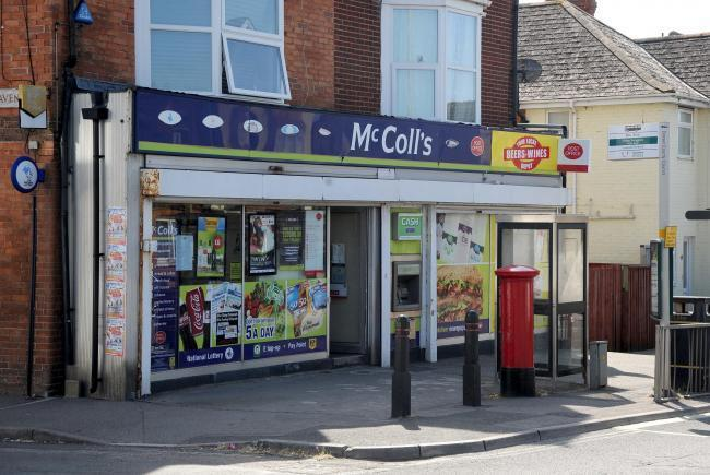 The former McColl's newsagents, Weymouth, now closed. 24/07/19, Picture: FINNBARR WEBSTER/F30368.