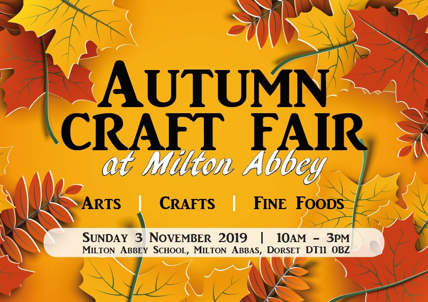 Milton Abbey Autumn Craft Fair