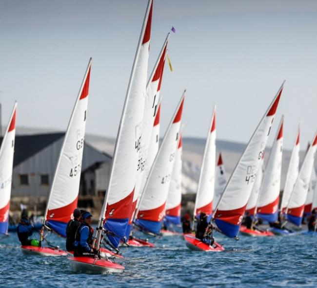 Entries are now open for the Regional Junior Championships                                                                                      Picture: PAUL WYETH/RYA