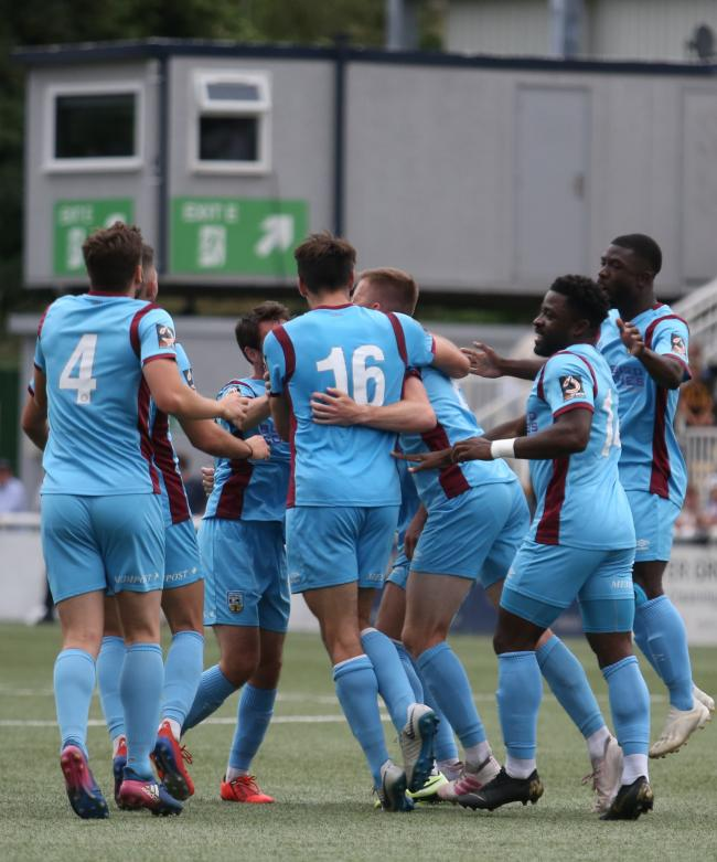 Weymouth will visit Sholing in the FA Cup second qualifying round Picture: MARK PROBIN