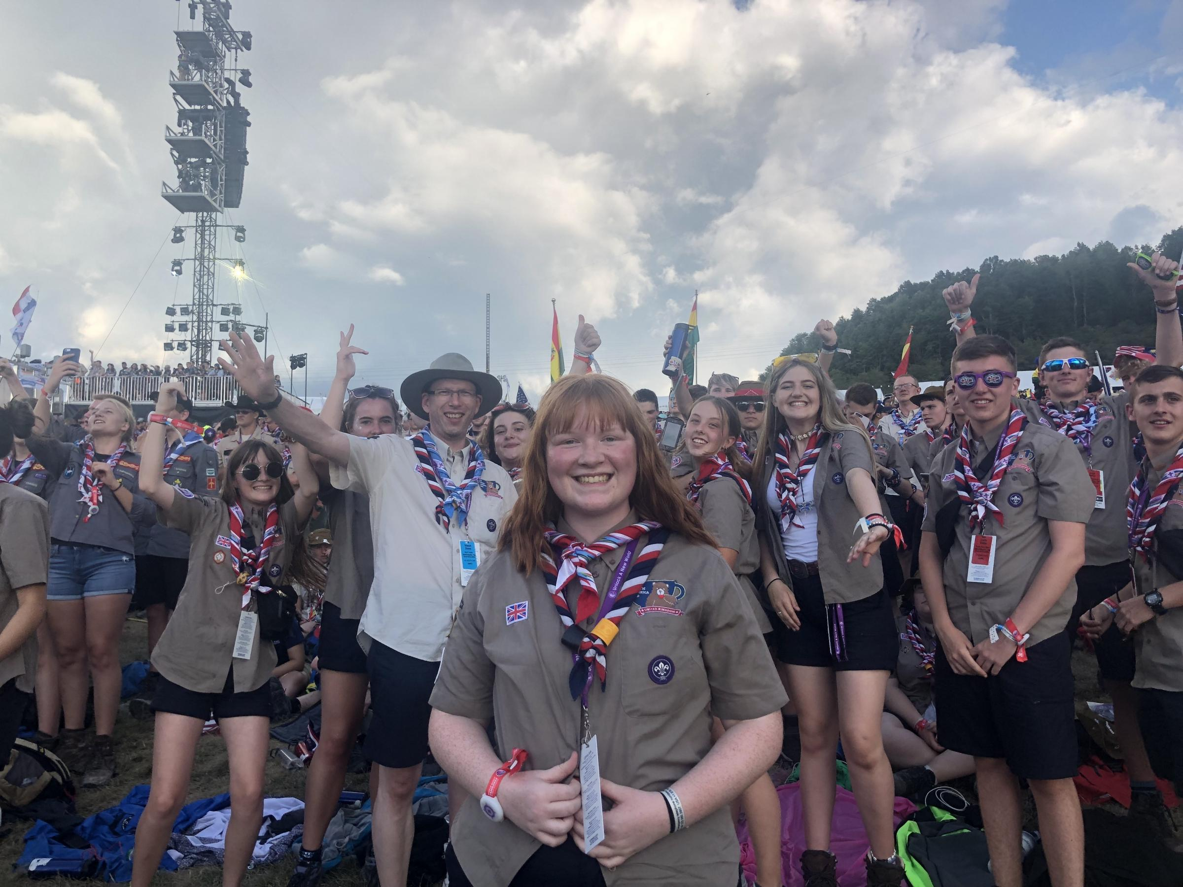 Weymouth Scout journeys to America to take part in international Scouts gathering