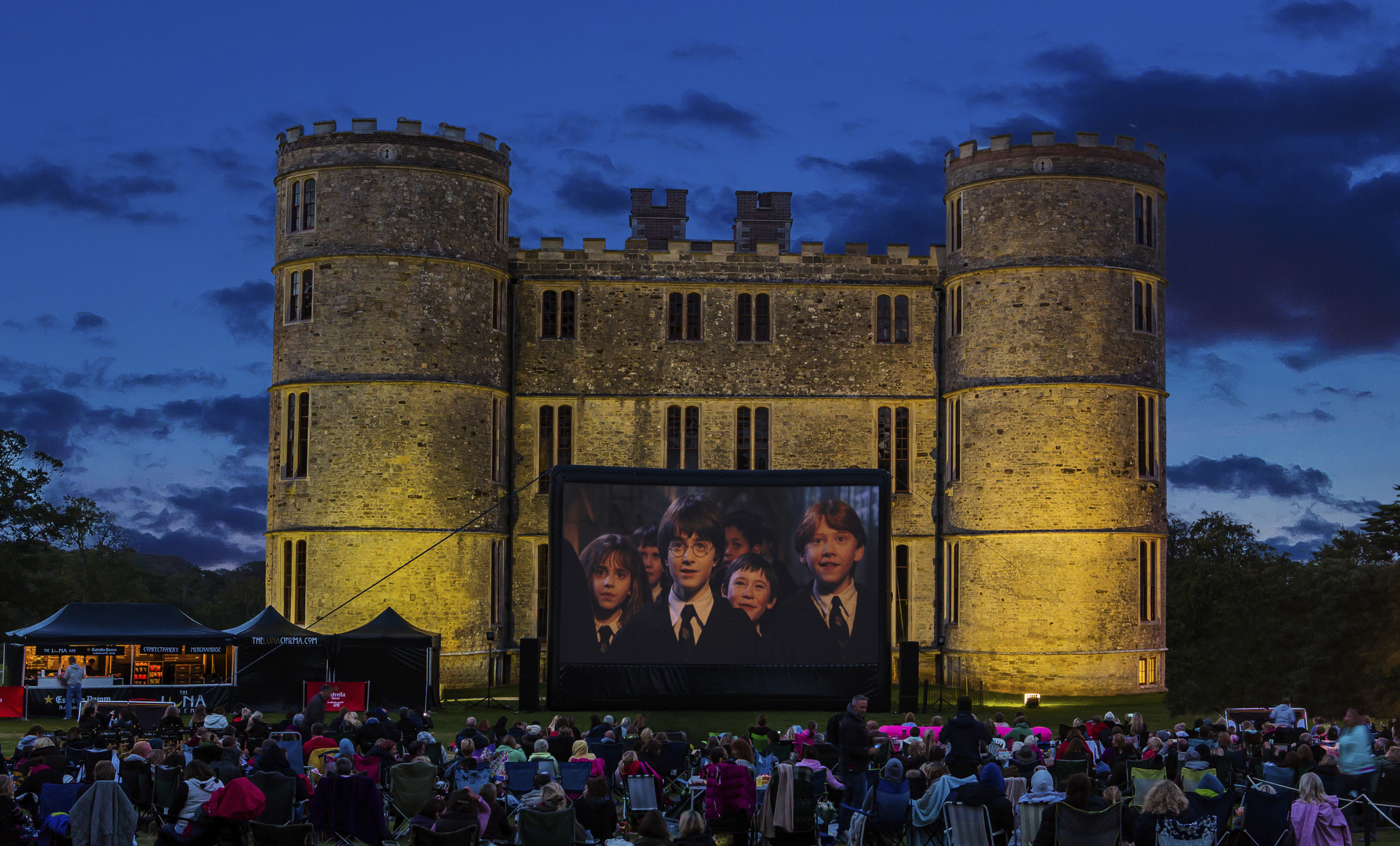 Lulworth Castle to host outdoor cinema experience