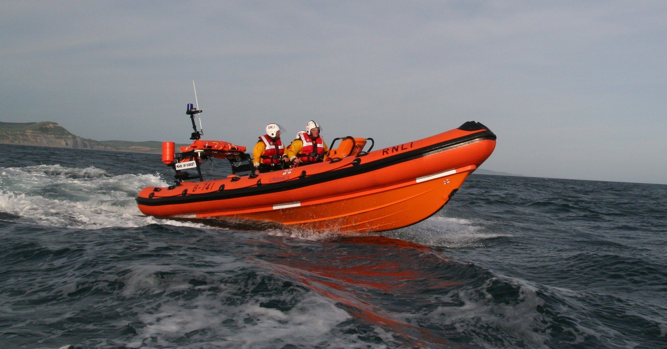 Rescue drama as person pulled from sea in stormy conditions