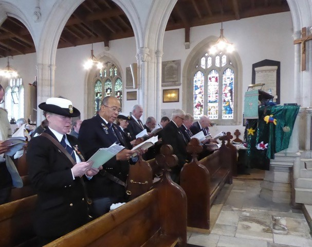 All Saints Church holds service for Sea Sunday