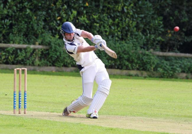 Sam Baker hit 57 not out for Cattistock 					            Picture: LIAM TOOHILL