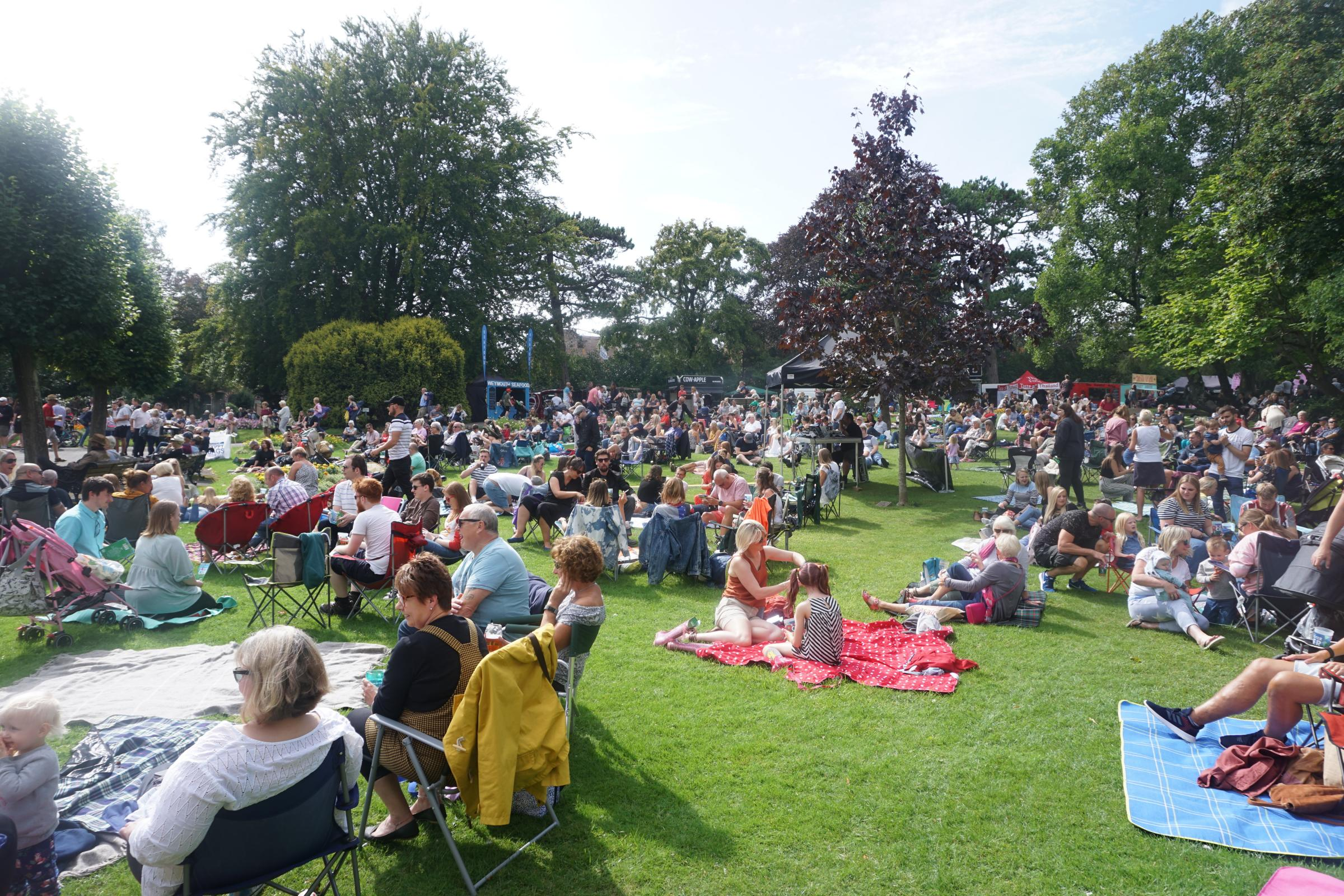 Dorchester Cider Festival attracts thousands of visitors