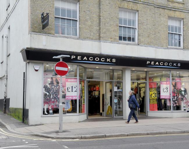 Peacocks has stores in Bridport, Dorchester, Weymouth, Poole and Boscombe.