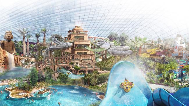 Unveiled: The huge £75m water park and spa that will 'put Dorset on the map'