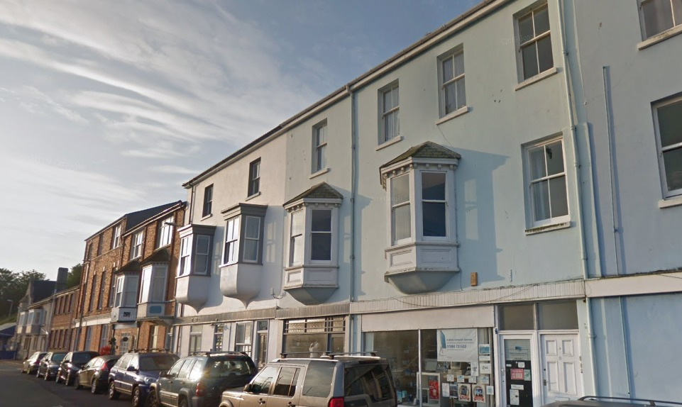 Portland shop earmarked to be converted into a flat