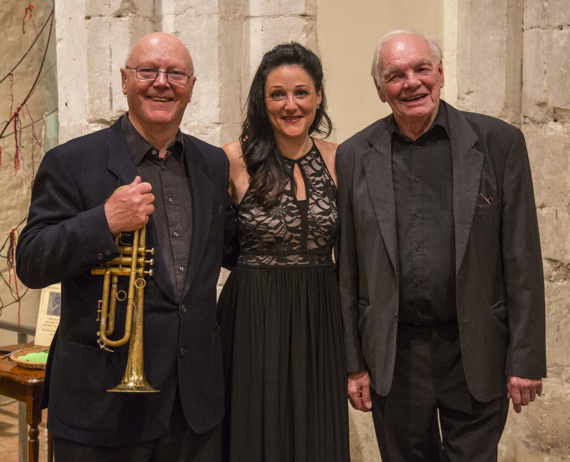Trio ready for first Sunday concert of the season