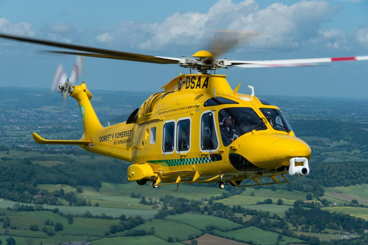 Road closed and air ambulance called after 'serious' crash in Chickerell