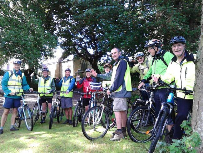 Volunteers are being invited to get on their bike and pedal for their parish church in this year's annual Ride and Stride for Churches event, Picture: MCKENNA TOWNSEND