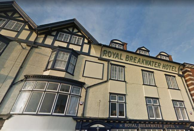 Royal Breakwater Hotel     Picture: Google Maps