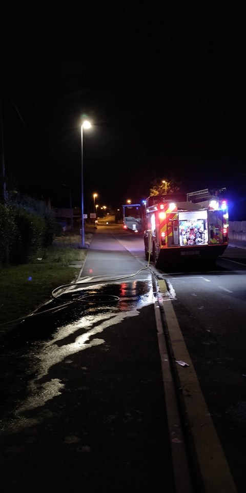 Weymouth firefighters called to van and bin fires