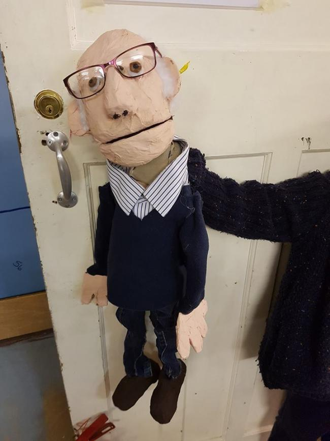 Make your very own puppet at the Lyric's Puppet Club