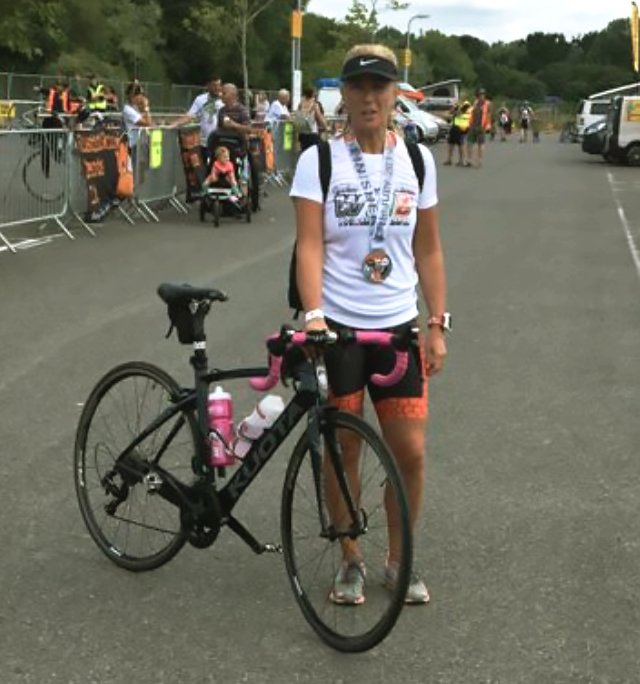 Weymouth woman prepares to take on Ironman challenge for Dementia UK