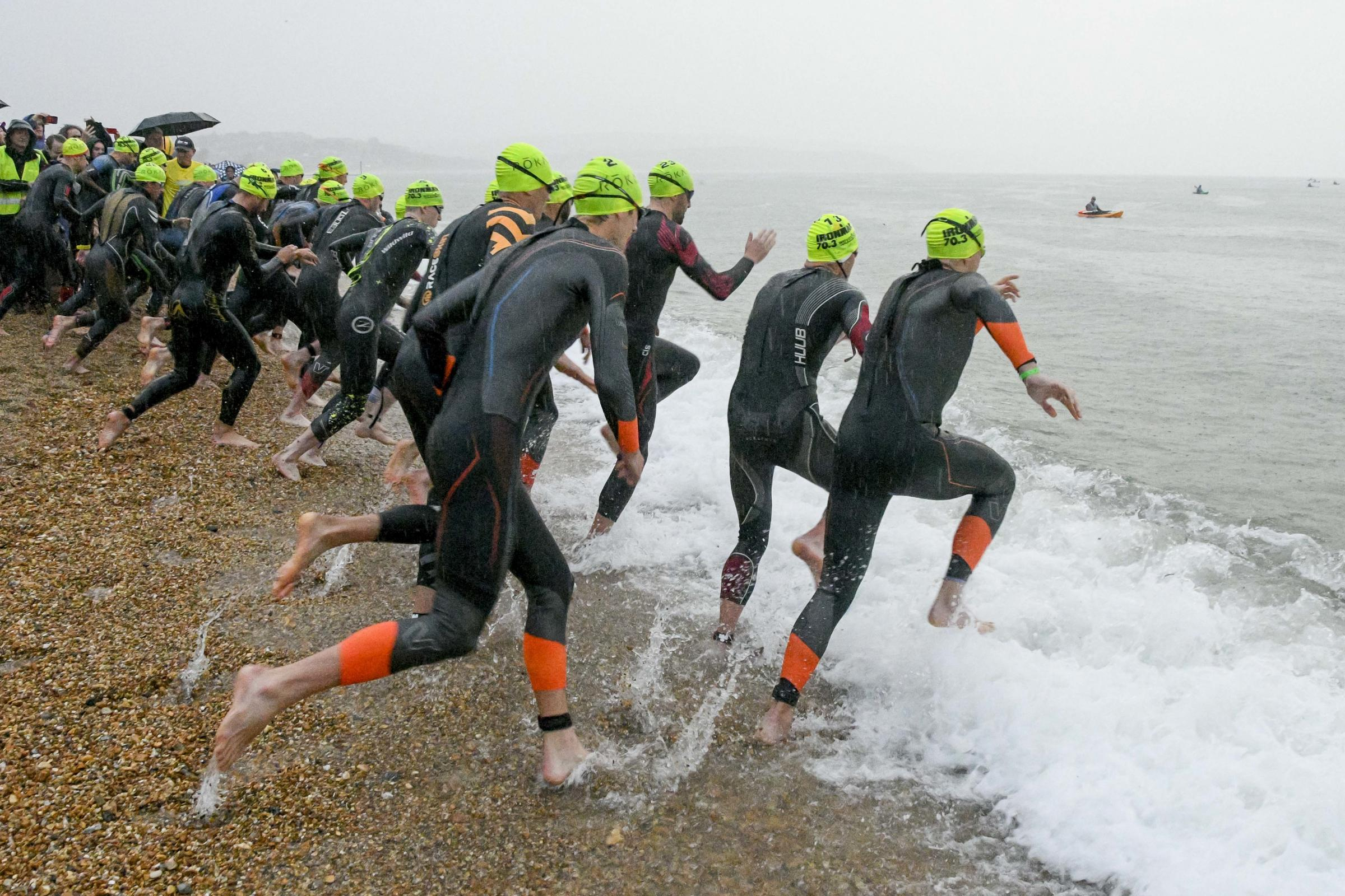 Pictures: Thousands of athletes take part in gruelling Ironman challenge