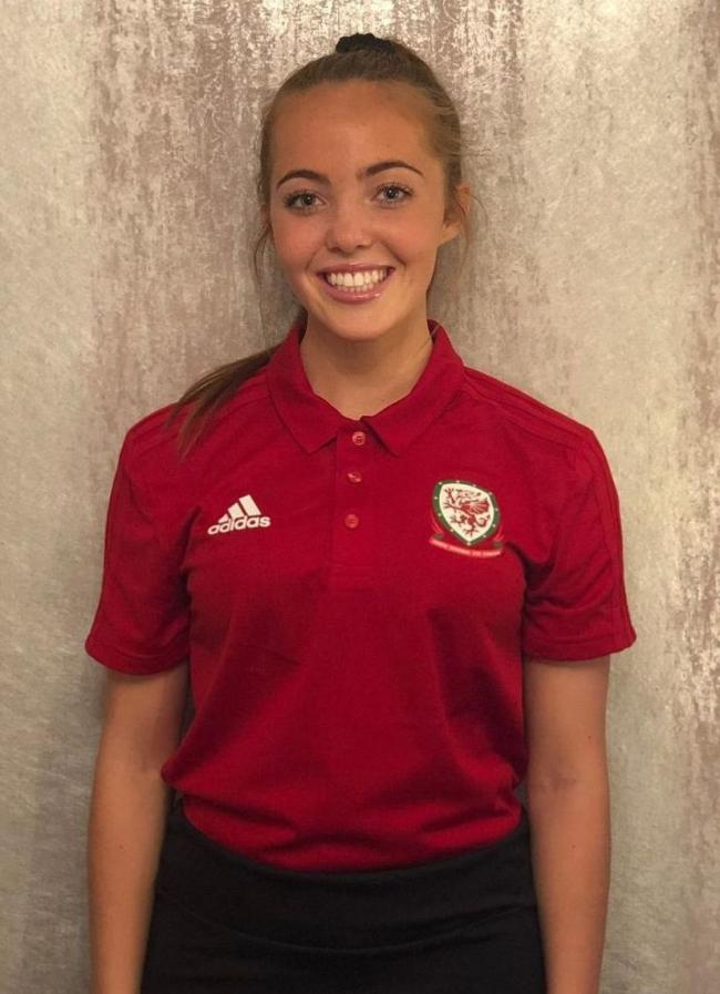 Charlotte Harris played 90 minutes for Wales' Women's under-19s in their 1-0 defeat to Northern Ireland