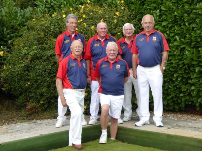 The Greenhill team that lifted the Percy Baker Triples
