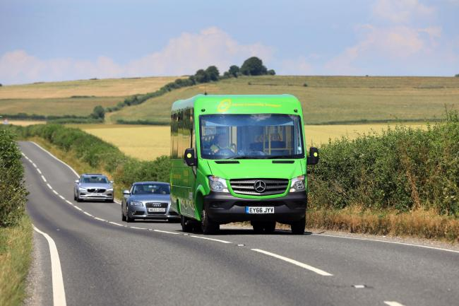 "Dorset Community Transport's ""little green bus"" is a lifeline for isolated rural communities"