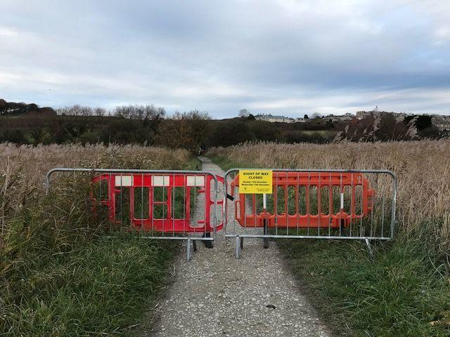 Lodmoor RSPB reserve path closed for works
