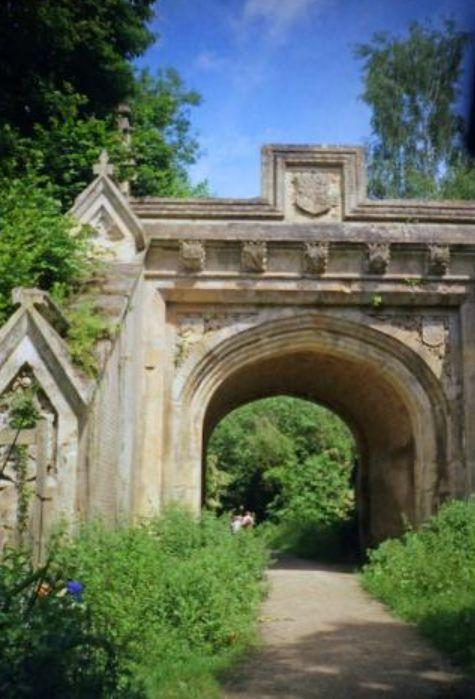 Canford Manor Arch Picture: Phil Champion