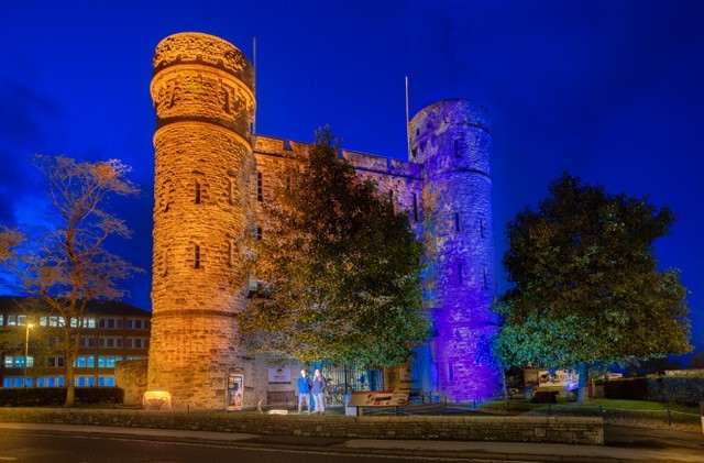 Dorchester museum illuminated in support of charity