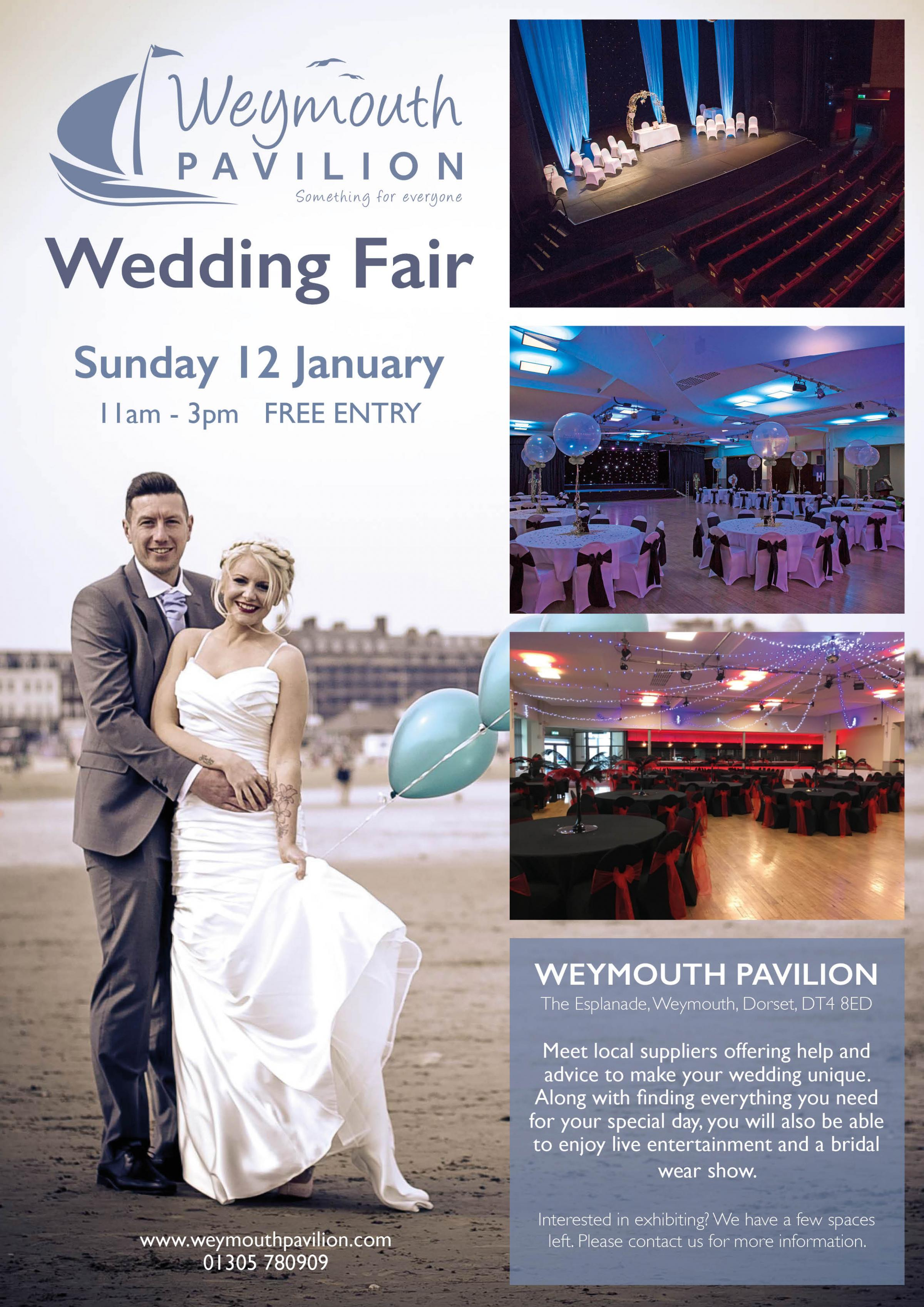 Weymouth Pavilion Wedding Fair