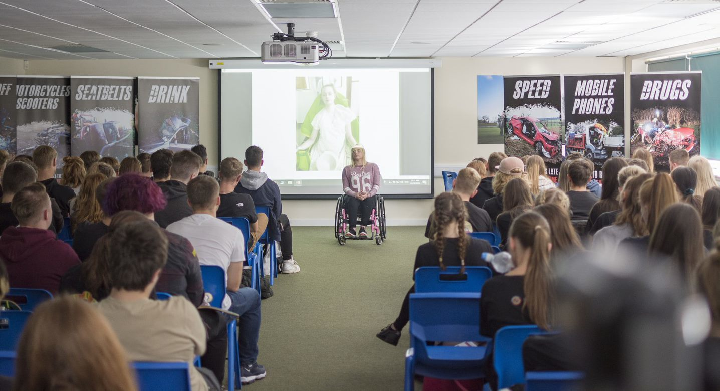 Students across Dorset to be shown hard-hitting road safety presentation