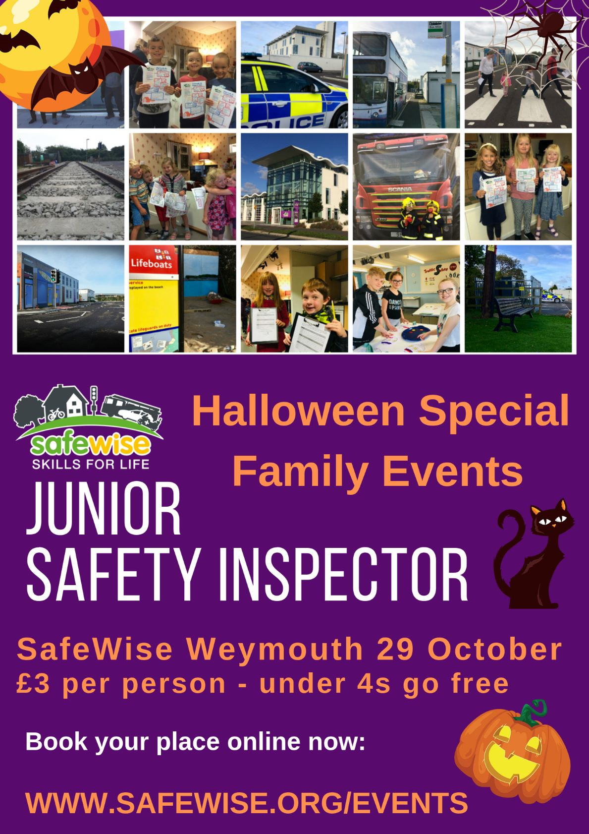 Junior Safety Inspector Family Tours - Halloween Special