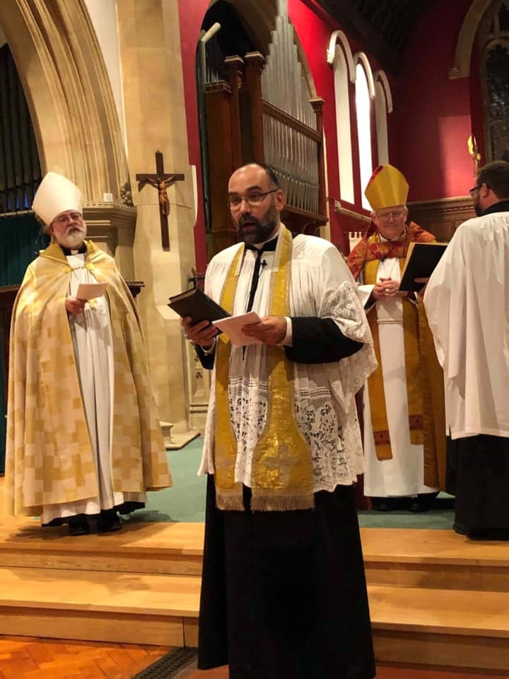 Warmest welcome for Father Gregory at St Paul's Church