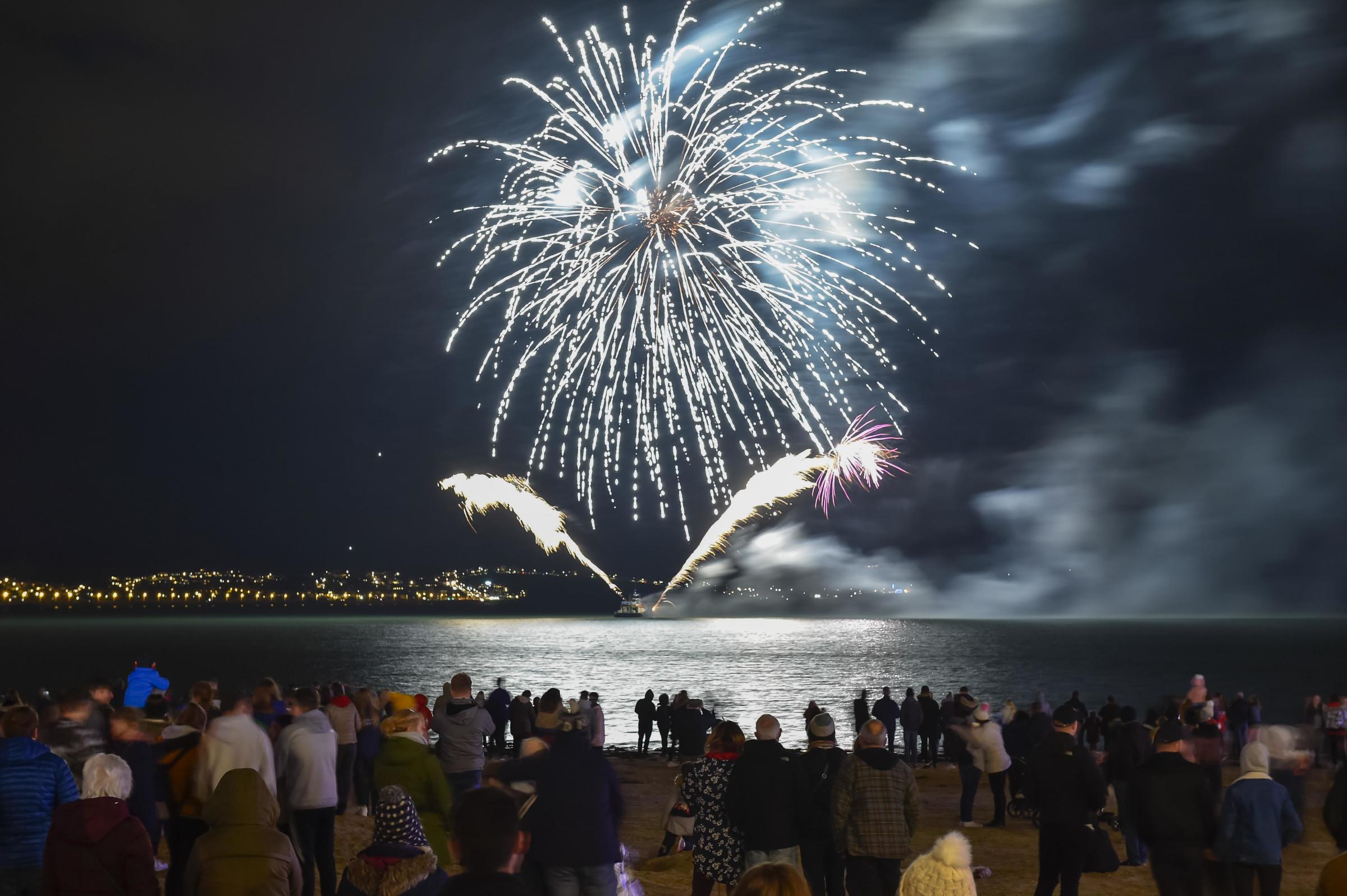 Pictures: Guy Fawkes Night on Weymouth Beach