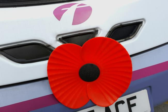 First Bus offered free travel to armed forces personnel to Remembrance services this year     Picture: First Bus