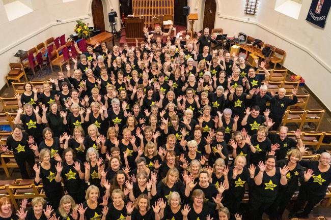 Dorset Rock Choir    Picture: William Lane