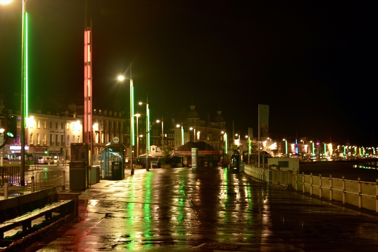 Weymouth's new seafront lights to be switched on - Dorset Echo