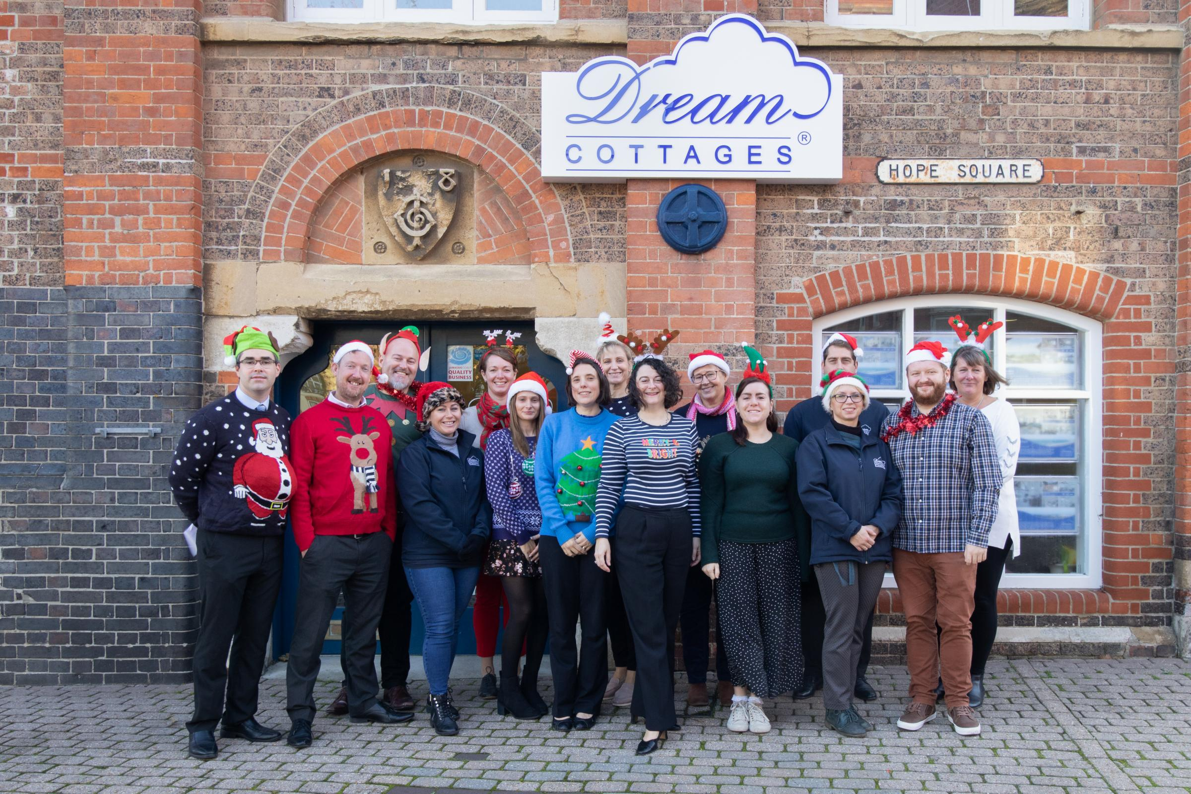 Dream Cottages in Weymouth donates to Dorset Echo Christmas Toy Appeal - Dorset Echo