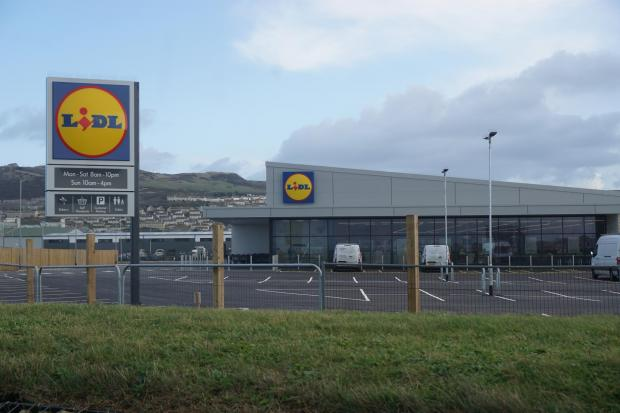 New Lidl store on Portland