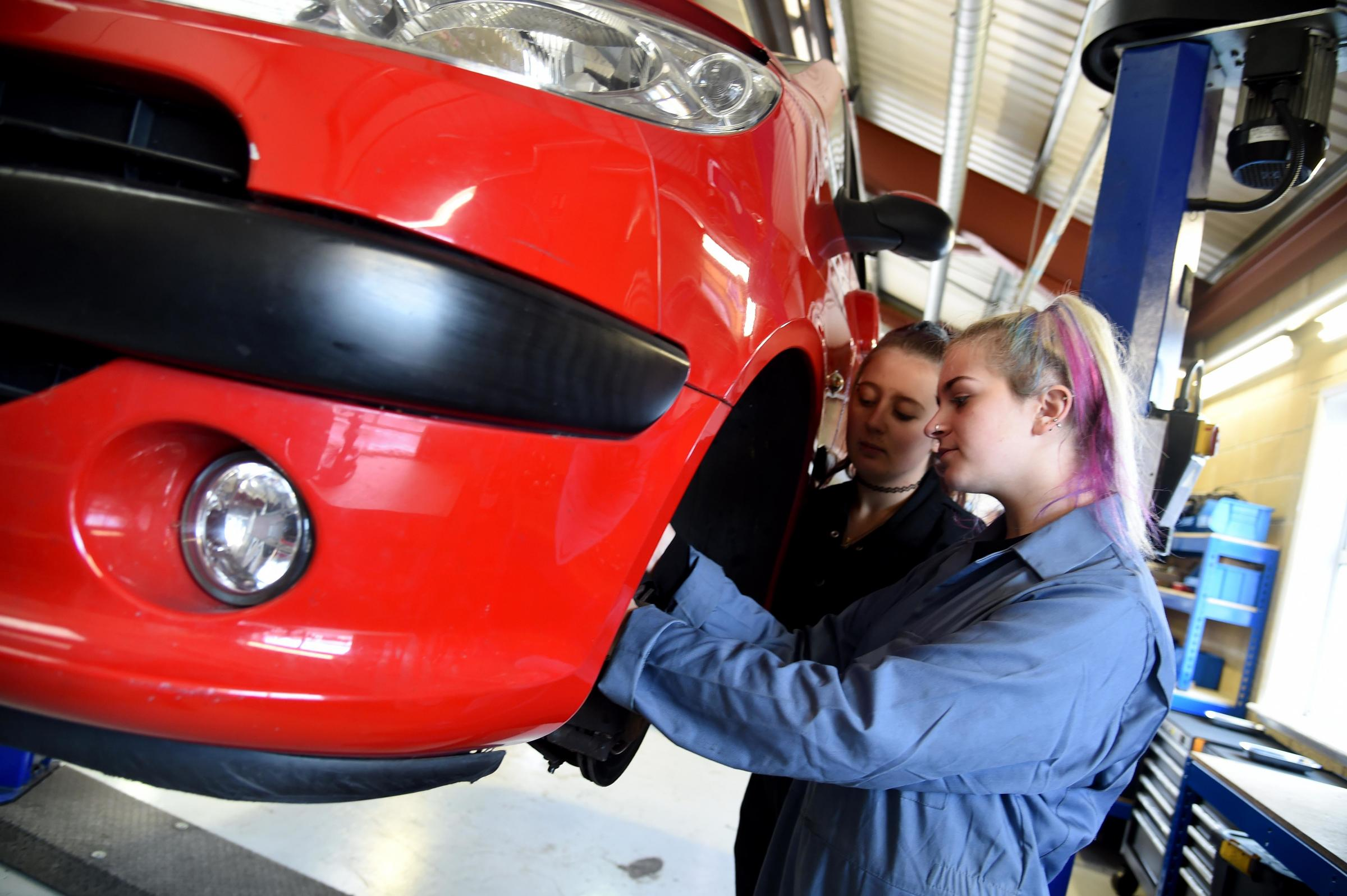 Weymouth College opens Centre of Excellence for Motor Vehicle Technology - Dorset Echo
