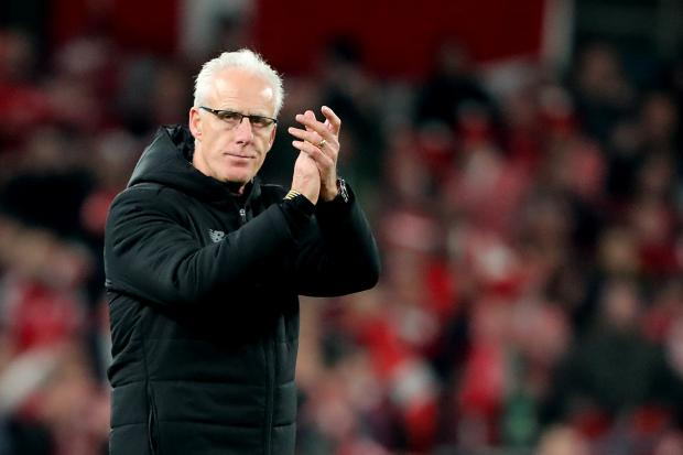 Republic of Ireland manager Mick McCarthy was putting on a brave face after seeing his side miss out on automatic qualification for the Euro 2020 finals